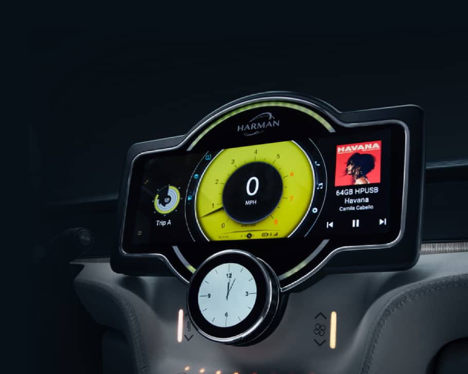 Automotive Design - The Digital Cockpit